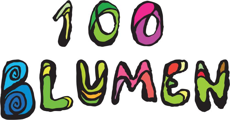 Logo der 100 Blumen Brauerei